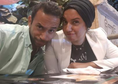 محمد وزوجته سمر