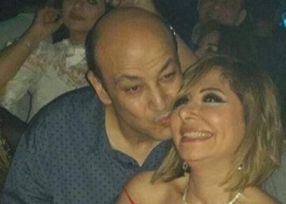 عمرو أديب ولميس الحديدي