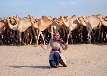 ريهام أبو بكر: أصغر مؤسسة لشركة سياحة جغرافية وبيئية