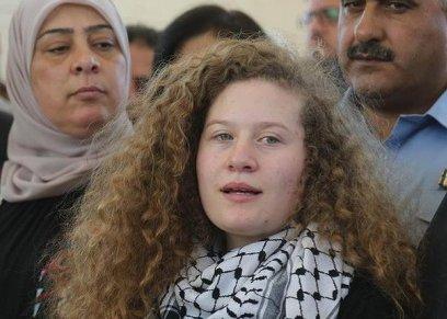 بالفيديو  عهد التميمي تكشف عن وقوعها في قصة حب مع مناضل فلسطيني: