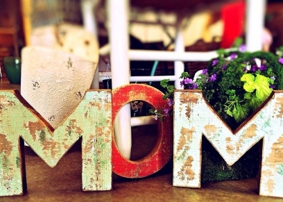 هدايا عيد الأم من صنع اليد