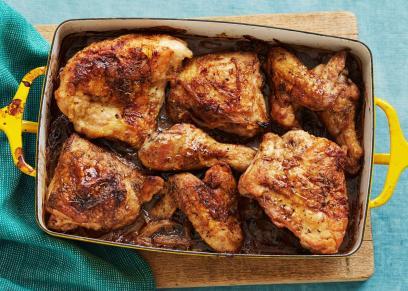 طهي الدجاج