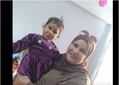 العثور على طفلة عامين ملقاه أمام مسجد بالبراجيل