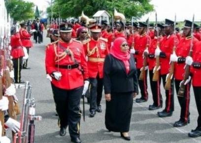 سامية حسن رئيسة تنزانيا الجديدة