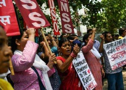 آلاف الهند يتضامون مع حادث اغتصاب طفلة ذات 7 أعوام