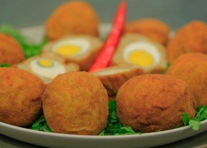 البيض بالبطاطس