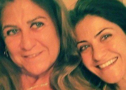 هيدي كرم ووالدتها