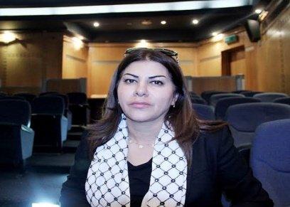 صورة أرشيفية لزوجة السفير الفلسطيني