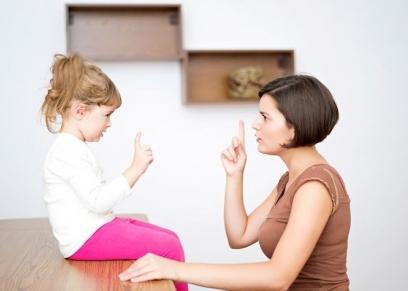 أم تعاقب ابنتها