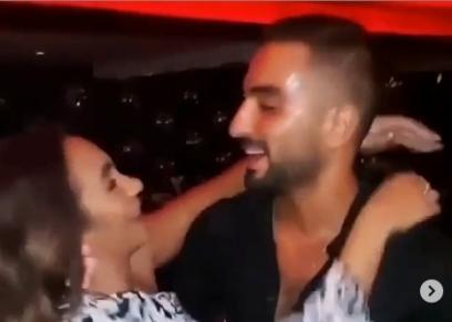 محمد الشرنوبي وزوجته
