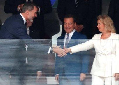 زوجة رئيس الوزراء الروسي ديميتري ميدفيديف