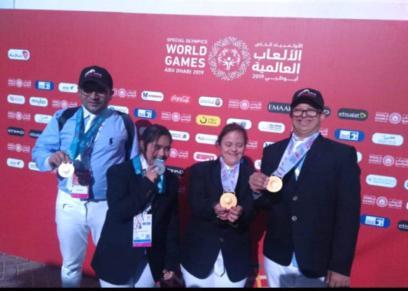 أبطال أولمبياد 2019
