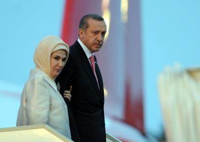 أردوغان وزوجته