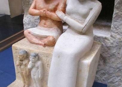 تمثال سنب وزوجته