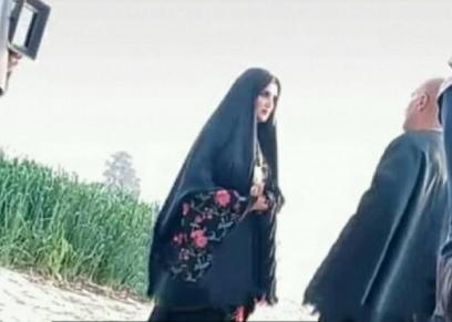 مشهد لقاء أحمد السقا ومي عمر في نسل الأغراب