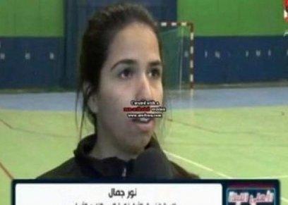 نور كمال لاعبة الأهلي الراحلة
