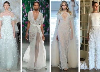 فساتين الزفاف في أسبوع الموضة بباريس