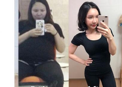 تخسر 40 كيلو من وزنها في 10 شهور