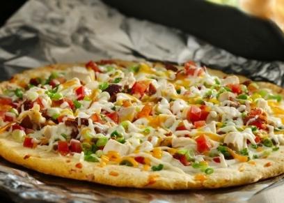 طريقة عمل بيتزا تشيكن رانش
