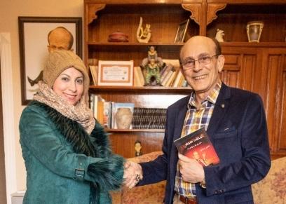 الدكتورة نسرين عبدالعزيز والفنان محمد صبحي