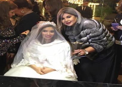 جانب من حفل زفاف غادة رجب