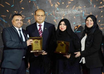انطلاق حفل توزيع جوائز أفضل السيدات اسهاما فى رفع مكانة الإمارات عالميا