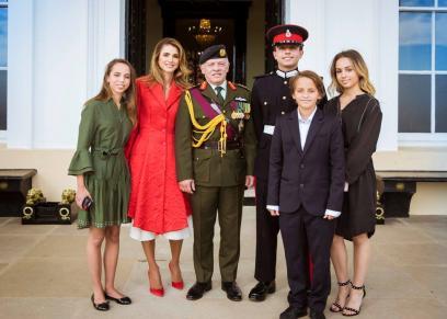 أسرة الملك عبدالله الثاني ملك الأردن