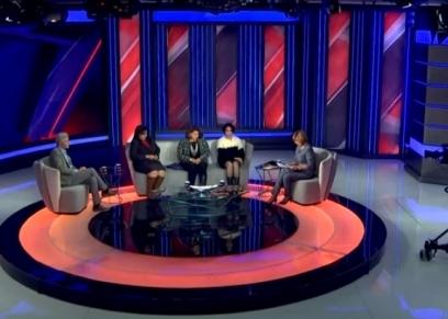 صورة من فقرة التحرش الجنسي في برنامج