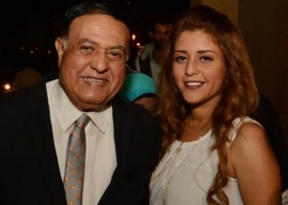 الفنان محمد متولي وابنته
