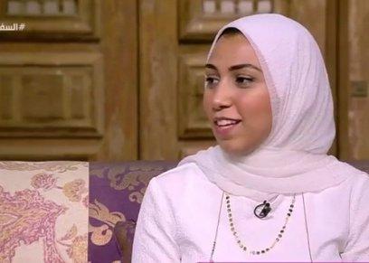 آيه الطبلاوي أصغر منشدة في مصر تحكي عن بداياتها في مجال الإنشاد الديني