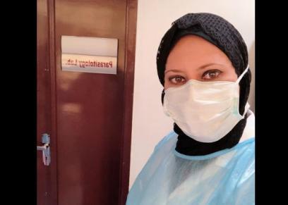 ماهيتاب فوزي طبيبة مصرية بالكويت