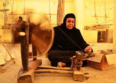 أم السعد-الأعمال اليدوية