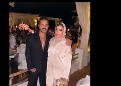 عبدالله الرفاعي وزوجته