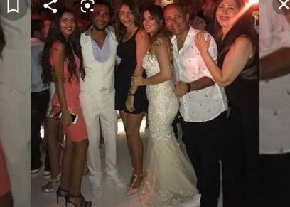 محمد إمام بحفل زفافه