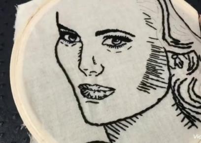 مهارات النساء ..بحب الرسم جدا بخرج كل طاقتي
