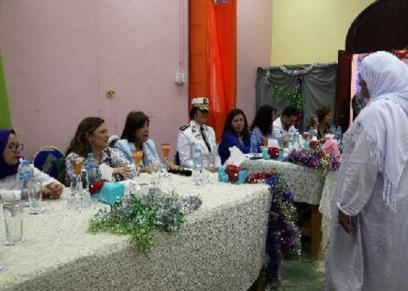 وفد من المجلس القومى للمرأة فى زيارة لسجن النساء بالقناطر