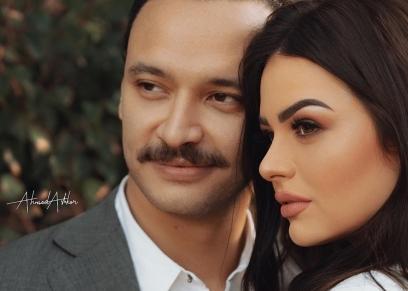 خطوبة هنادي مهنا وأحمد خالد صالح