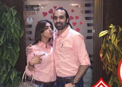 جمال حمزة وزوجته