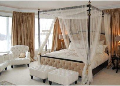 بالصور| 5 أفكار مختلفة لتصميم مميز لستائر غرف النوم