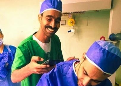 محمود الليثي يصور الولادة