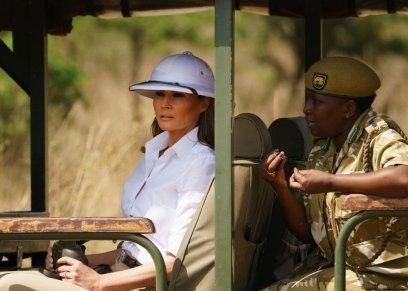 ميلانيا ترامب في كينيا