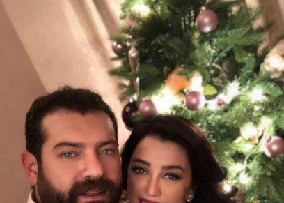 كندة علوش وزوجها عمرو يوسف