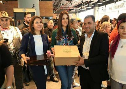 تكريم رانيا الصباغ في اليوم العالمي للمرأة