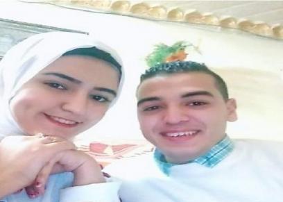 عروسة الجنة مع عريسها
