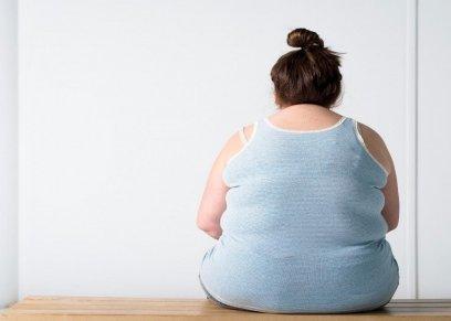 سيدة صاحبة وزن زائد عن الطبيعي