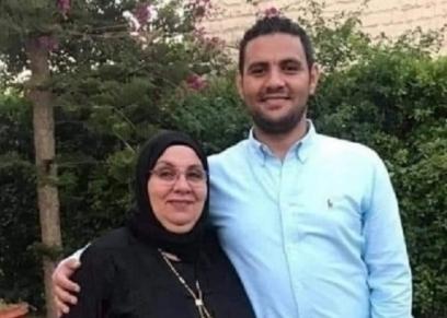مجدي سامي ووالدته