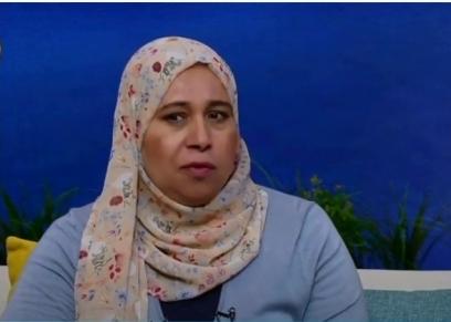 سناء عبدالجواد سيدة مصرية حصلت على درجة الماجستير بعد محو الأمية