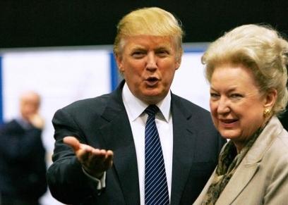 ترامب وشقيقة الكبري ماريان