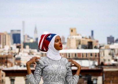 قبل نحو عام تلقت دينيس والاس المديرة التنفيذية في مسابقة ملكة جمال مينيسوتا بالولايات المتحدة اتصالا من حليمة آدن (19 عاما) تسأل هل يمكنها المنافسة في المسابقة وهي ترتدي الحجاب.  وقال والاس