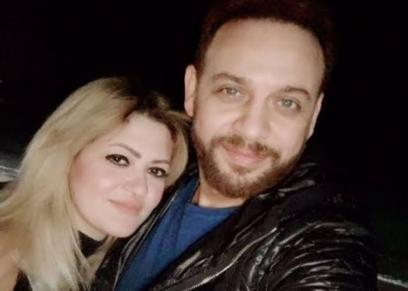 مصطفى قمر وزوجته